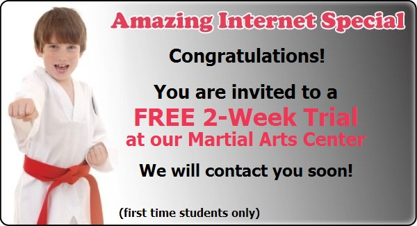 Fountain Valley Kid's Free Trial